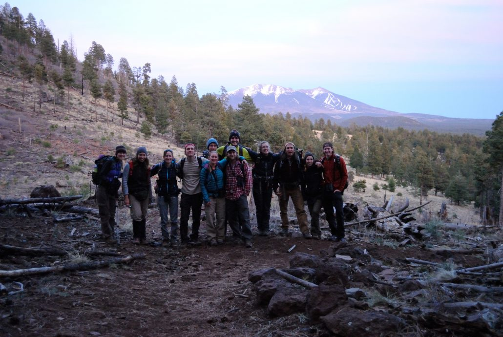 Bird Conservancy of the Rockies Spotted Owl field crew. Photo by Wendy Lanier.