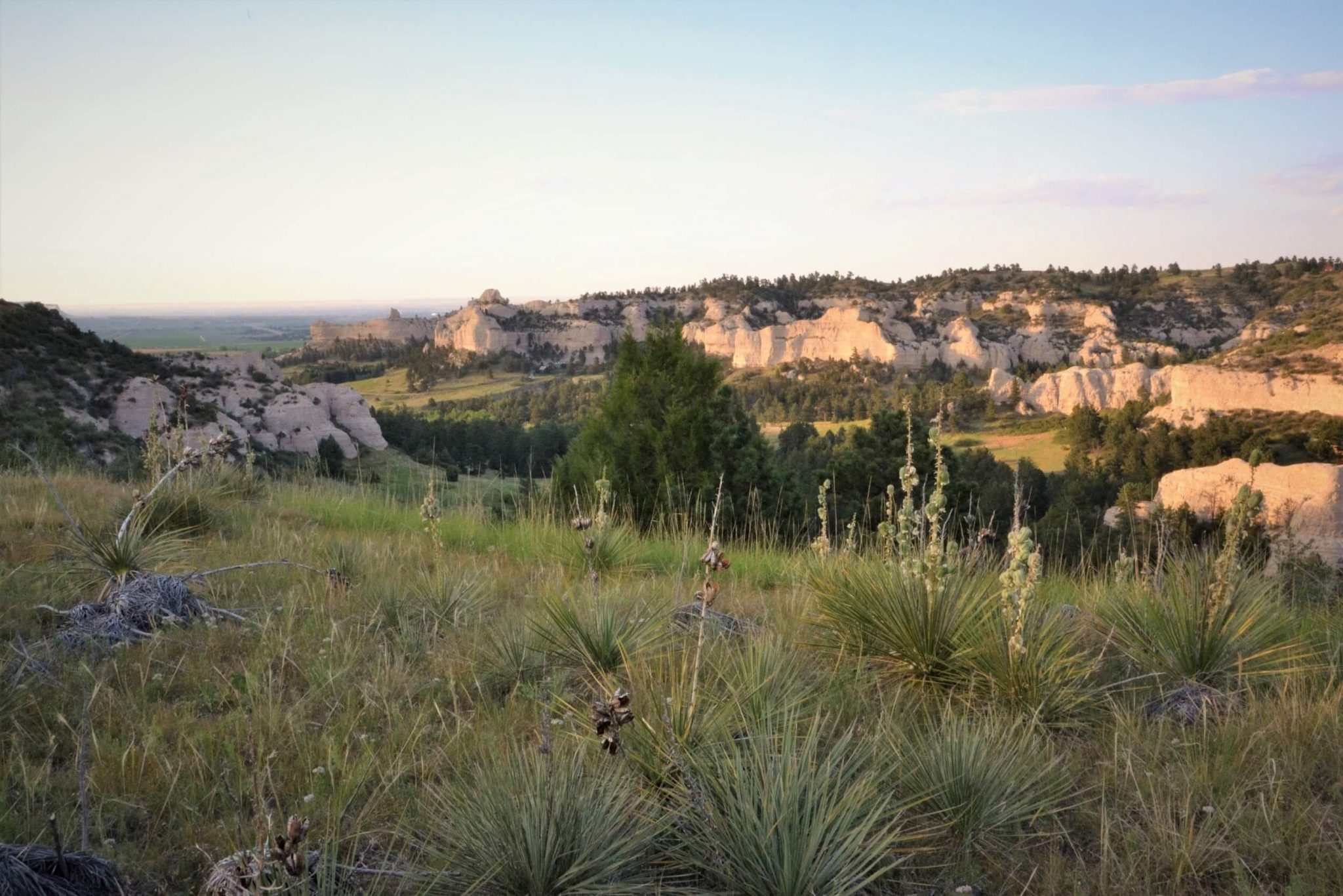 Wildcat Hills State Recreation Area in Scotts Bluff County, Nebraska